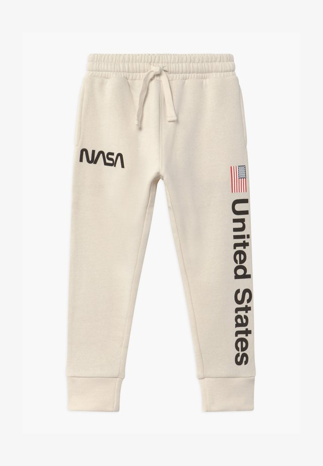 NASA SLOUCH - Trainingsbroek - dark vanilla