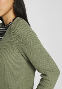Marc O'Polo - LONG SLEEVE - Jumper - dried sage - 4