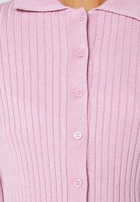 Monki - CAT - Button-down blouse - pink - 4