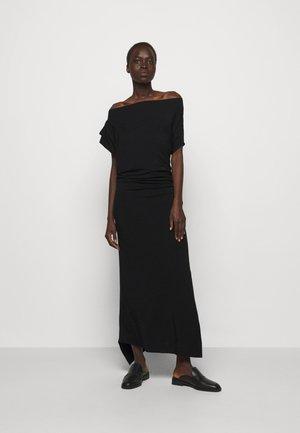 UTAH DRESS - Maxi dress - black