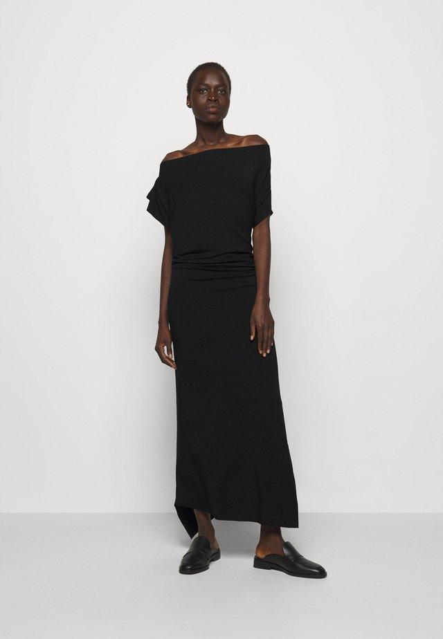 UTAH DRESS - Maxikleid - black