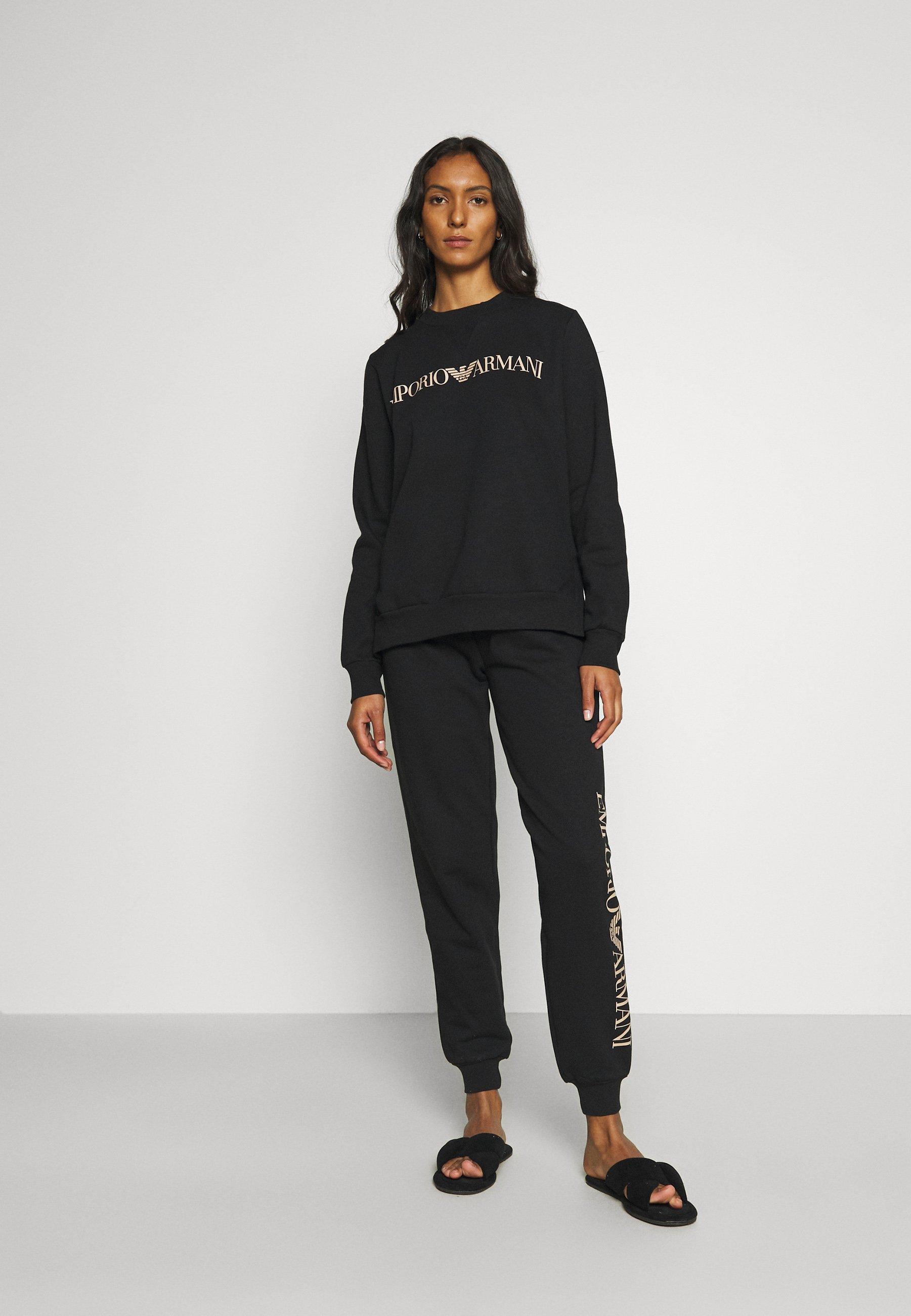 Damen ICONIC TERRY SWEATER PANTS SET - Pyjama