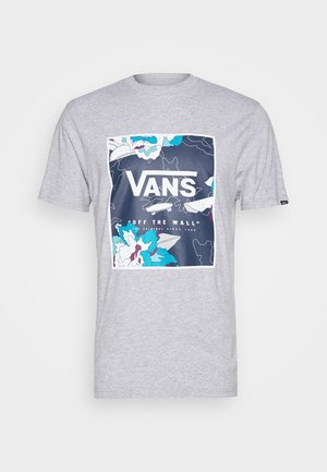 BOX - T-shirts med print - mottled grey