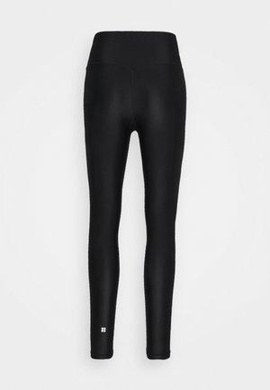 HIGH SHINE LEGGINGS - Leggings - black