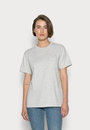 Basic T-shirt - beluga chine