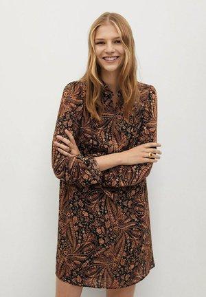 OSLO - Day dress - braun