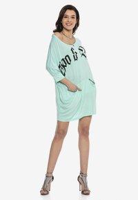 Cipo & Baxx - Jersey dress - mint - 3