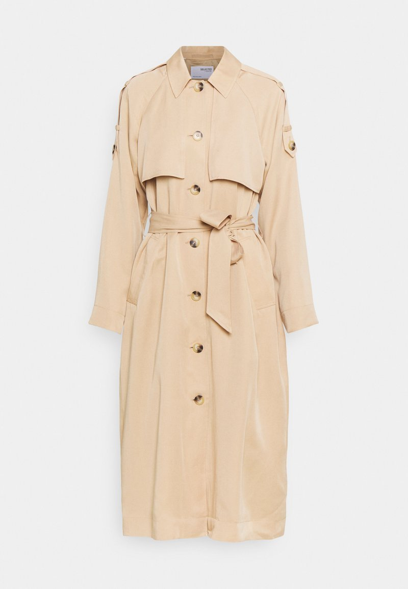 Selected Femme - SLFBRENNA  - Trenchcoat - taupe