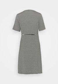 Vero Moda Tall - VMKATE SHORT DRESS - Jersey dress - black/white - 1