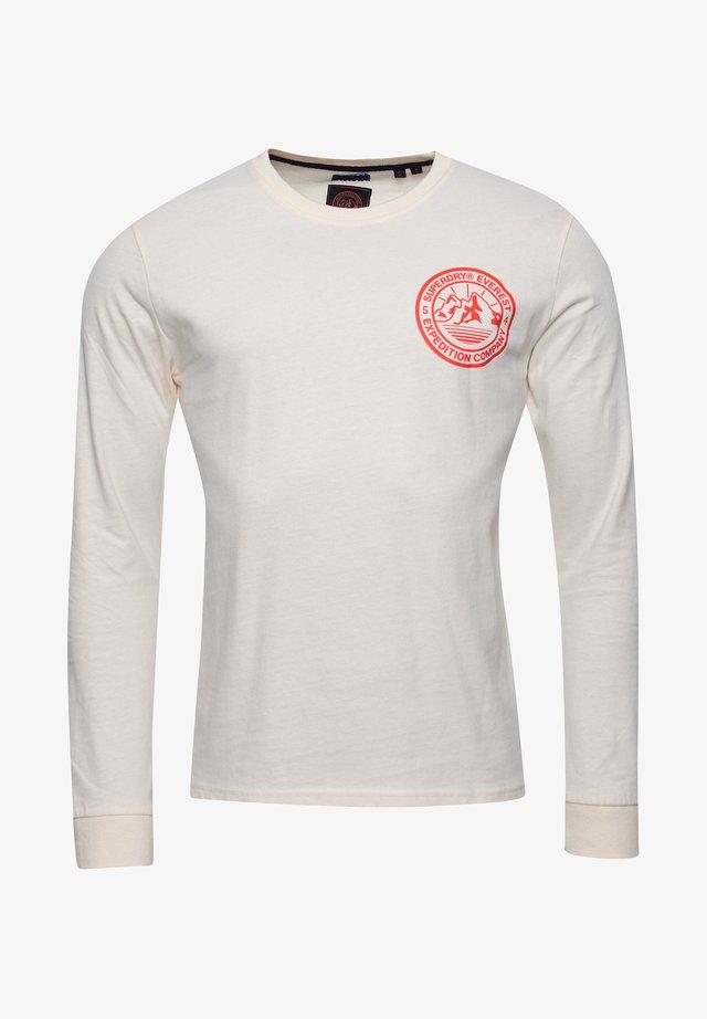 EVEREST - Long sleeved top - cream