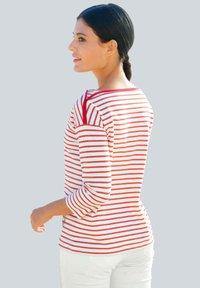 Alba Moda - Long sleeved top - rot weiß - 1
