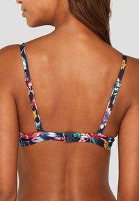 Esprit - SCHIEFERT - Bikini top - dark blue - 1