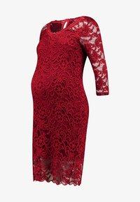 MAMALICIOUS - MLMIVANA DRESS - Robe de soirée - fired brick - 3