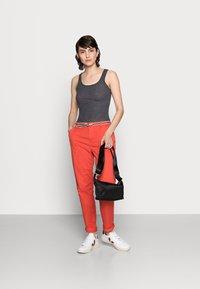 Esprit - FLOW - Chinos - orange red - 1