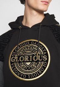 Glorious Gangsta - BOTTAGOHOODIE - Jersey con capucha - black - 5