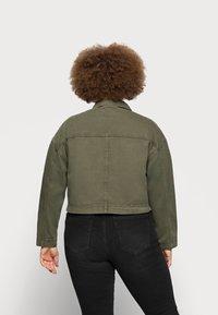 Dr.Denim Plus - NEVADA JACKET - Denim jacket - dark emerald - 2