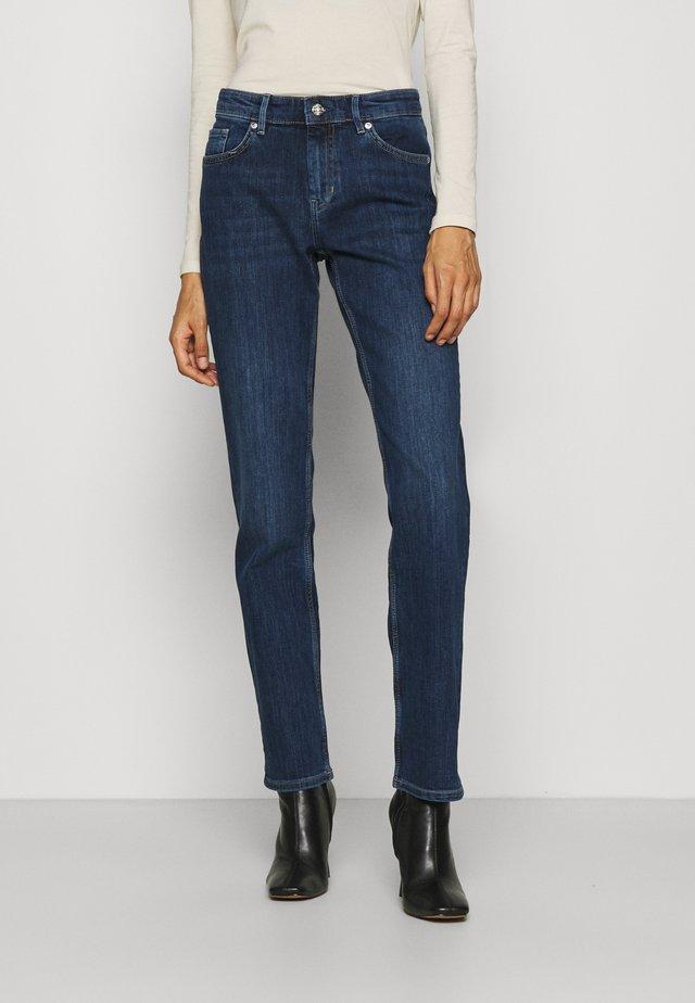 LANG - Jeans Straight Leg - blue stret