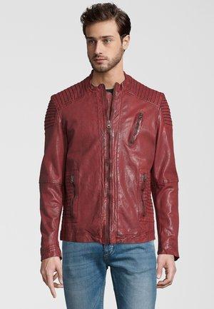 CAMPO - Leren jas - red