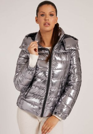 Down jacket - silber