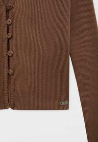PULL&BEAR - Long sleeved top - brown - 6