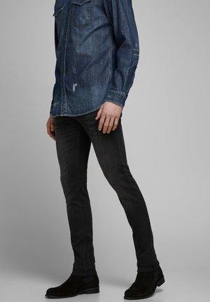SKINNY FIT JEANS LIAM ORIGINAL JOS 928 - Jeans Skinny Fit - black denim