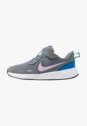 REVOLUTION 5 UNISEX - Neutral running shoes - smoke grey/iced lilac/white/soar