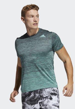 TECH GRADIENT - T-shirt print - green
