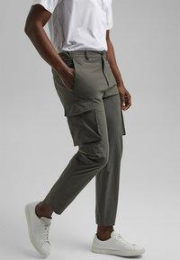 Esprit Collection - Cargo trousers - dark khaki - 6