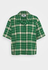 MM6 Maison Margiela - Button-down blouse - green - 5