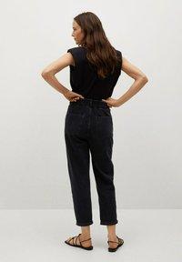 Mango - Slim fit jeans - black denim - 2