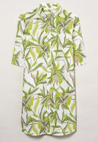 Eterna - MODERN CLASSIC - Button-down blouse - grün/weiss - 4