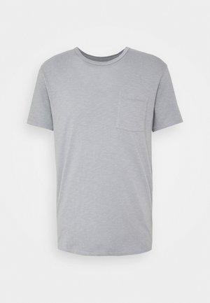 GARMENT DYE TEE - T-shirt basic - slate blue