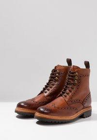 Grenson - FRED - Lace-up ankle boots - tan - 2