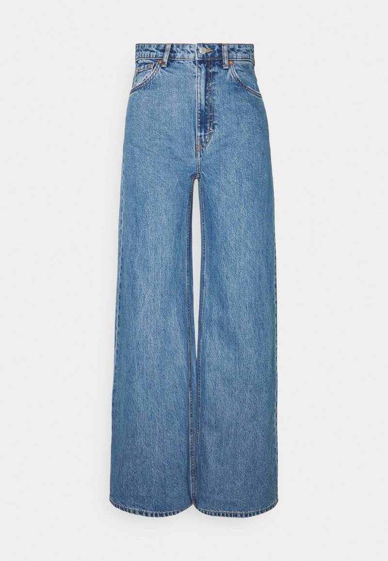 Weekday - ACE - Flared Jeans - blue denim