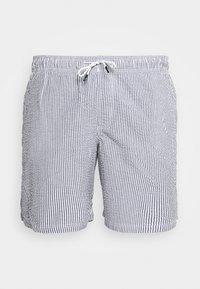 Jack & Jones - JJIARUBA SEERSUCKER  - Swimming shorts - navy blazer - 2