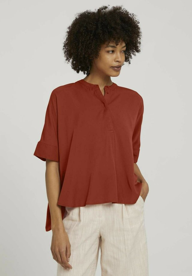 Blouse - rooibos orange