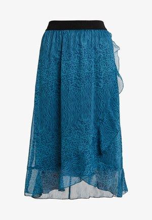 SKIRT CALF LENGTH - A-line skirt - dragonfly
