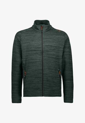 Zip-up hoodie - grau mel