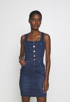 MARGOT DRESS POWER - Denim dress - hasta