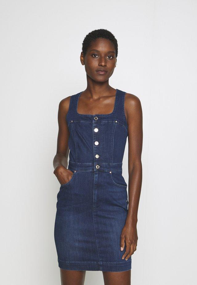 MARGOT DRESS POWER - Denim dress - hasta