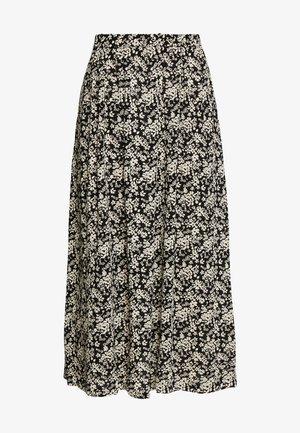 SEVERIN - A-line skirt - black