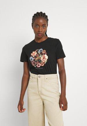 ONLCORNELIA LIFE BOX - T-shirt print - black