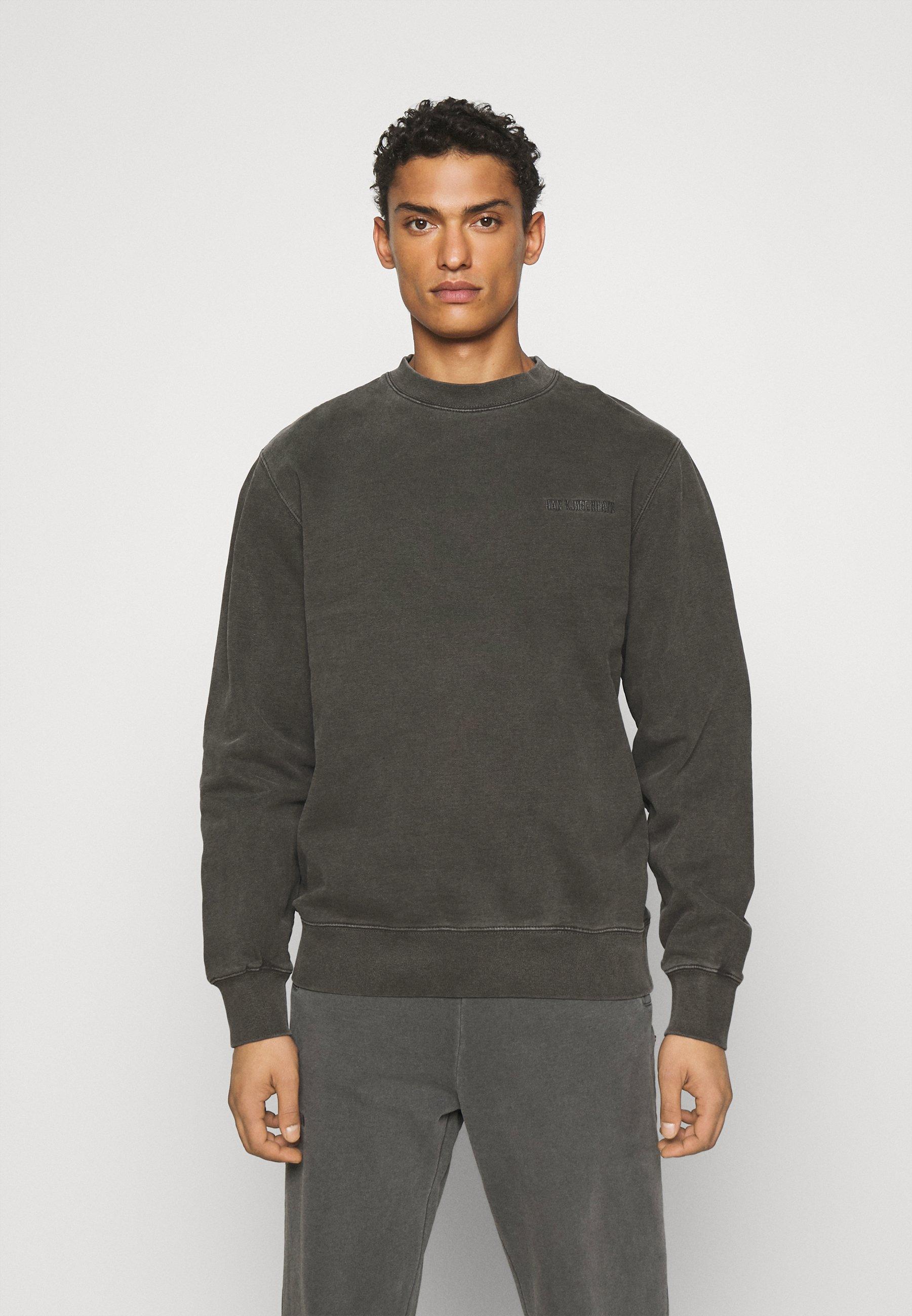 Homme CASUAL CREW - Sweatshirt - dark grey