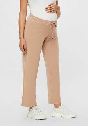Trousers - warm taupe