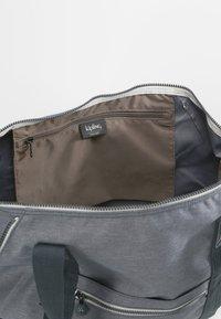 Kipling - ART M - Tote bag - charcoal - 4