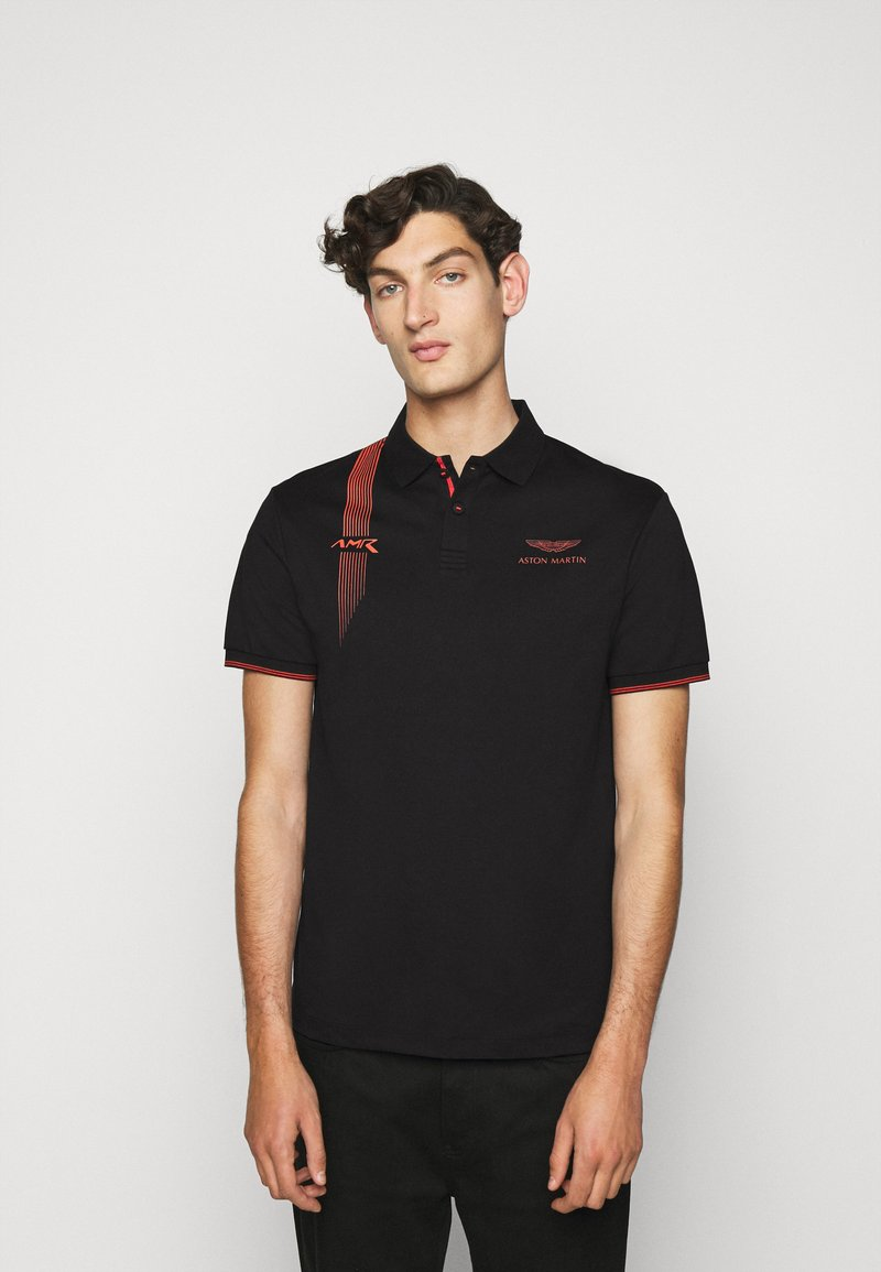 Hackett Aston Martin Racing - DYNAMIC LINES - Poloshirt - black