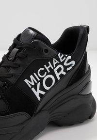 MICHAEL Michael Kors - MICKEY TRAINER - Trainers - black - 2