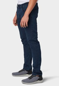 TOM TAILOR - TROY - Slim fit jeans - dark stone blue black denim - 3