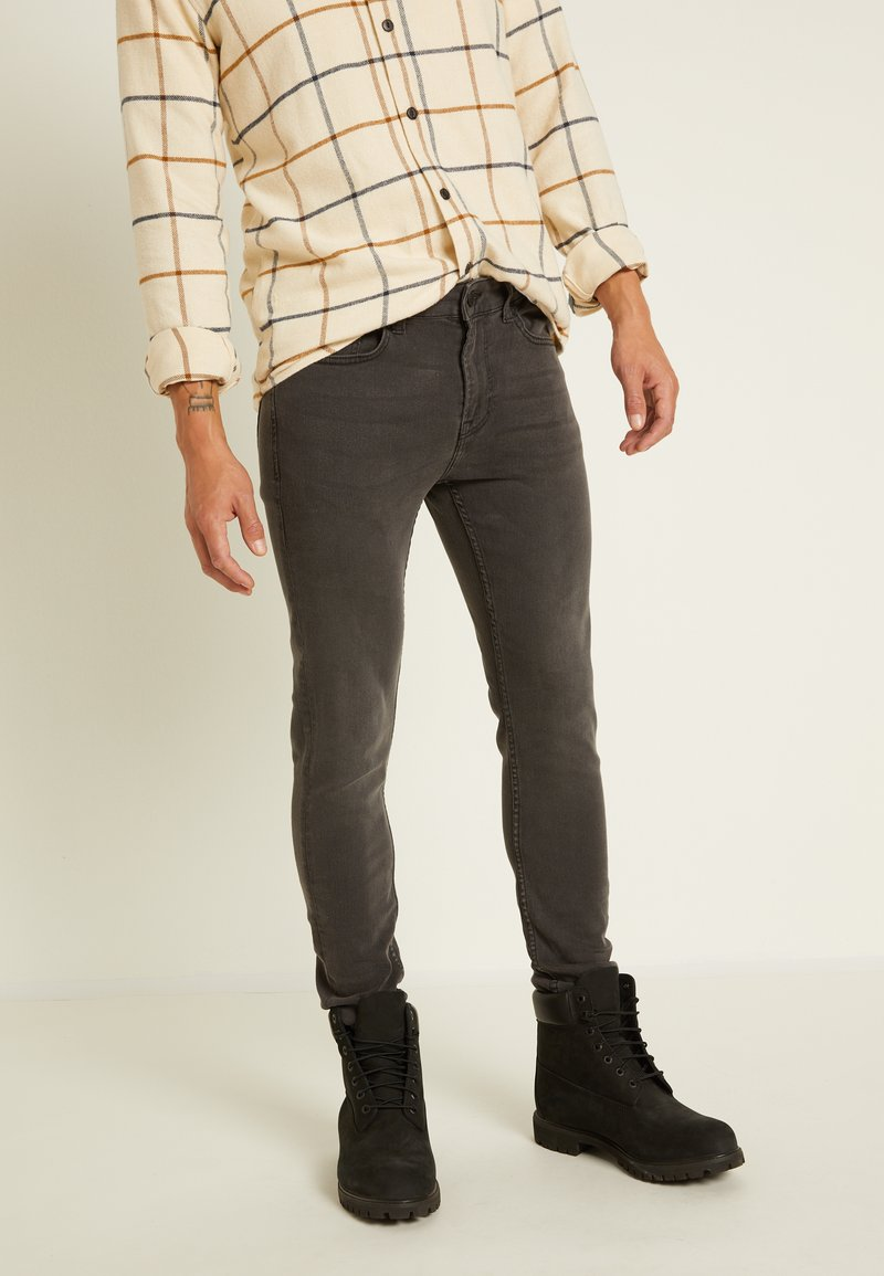 Only & Sons - ONSWARP - Jeans Skinny Fit - grey denim