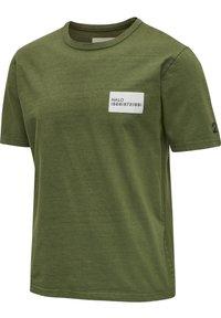 HALO - HEAVY - T-shirts print - winter moss - 1